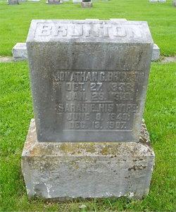 Sarah E. <i>Fry</i> Brunton