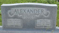 Minnie <i>Smith</i> Alexander