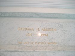 Barbara Louise <i>Hunt</i> Amsden