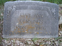 Lucy Ann Melinda <i>Taylor</i> Cummings