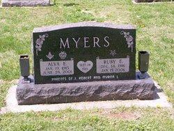 Ruby Ellen <i>Sutherlin</i> Myers