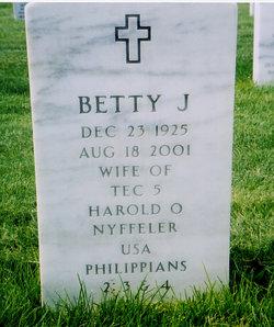 Betty Jean <i>Channer</i> Nyffeler