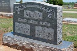 Frances Fannie <i>Palmer</i> Allen
