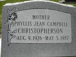 Phyllis Jean <i>Campbell</i> Christopherson