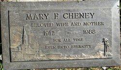 Mary Frances <i>Leon</i> Cheney