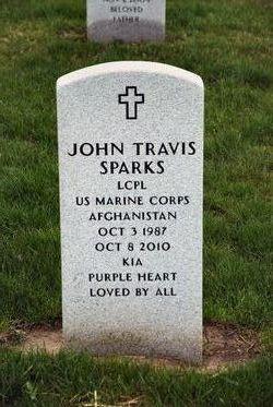 LCpl John Travis Sparks