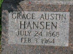 Grace Winifred <i>Veness</i> Austin Hansen