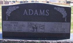 Althea <i>Williams</i> Adams