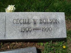 Cecile <i>Wigginton</i> Bolson
