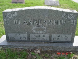 Paul Blankenship, Sr