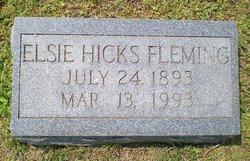 Elsie <i>Hicks</i> Fleming