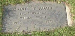 Calvin T Adair