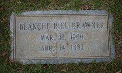 Blanche <i>Rice</i> Brawner