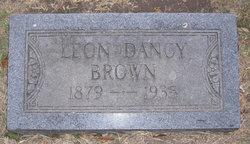 Leon Dancy Brown