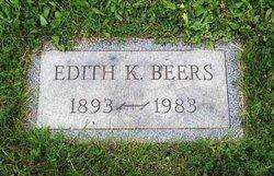 Edith K. <i>Kinzer</i> Beers