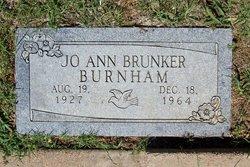 Jo Ann <i>Brunker</i> Burnham