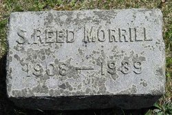 Stephen Reed Reed Morrill