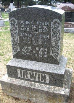 John C Irwin