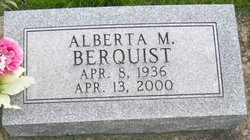 Alberta M. Berquist