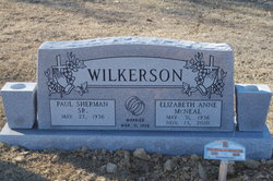Paul Sherman Wilkerson, Sr