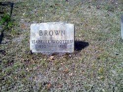 Isabelle <i>Wooten</i> Brown