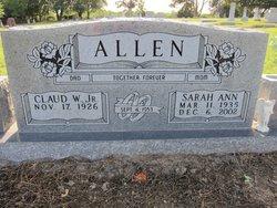 Claud W Allen, Jr