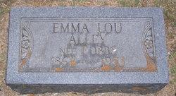 Emma Lou <i>Cobbs</i> Alley