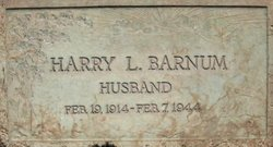 Harry L Barnum