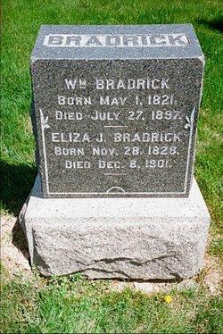 Elizabeth Jane Eliza <i>Keefer</i> Bradrick