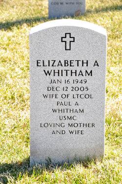 Elizabeth <i>Downs</i> Whitham
