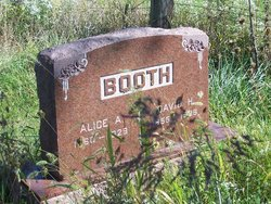 Alice Ann <i>Booth</i> Booth
