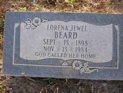 Lorena Jewell <i>Davis</i> Beard