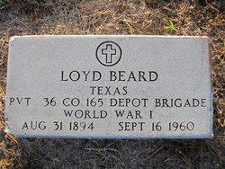 Pvt. Loyd Beard