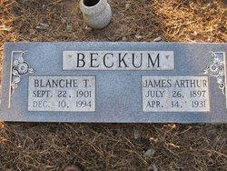 Blanche Thelma Lee <i>Carlton</i> Beckum