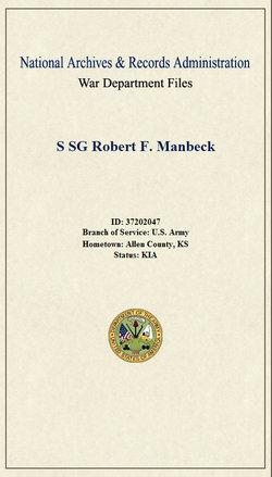 Robert Franklin Manbeck