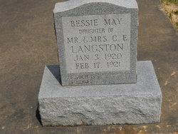 Bessie May Langston
