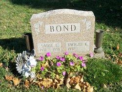 Sadie E <i>Brammer</i> Bond