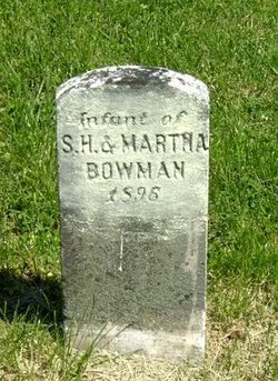 Infant son Bowman