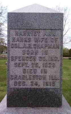 Harriet Ann <i>Hanks</i> Chapman