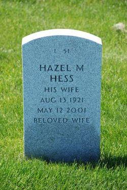Mrs Hazel <i>Merryfield</i> Hess