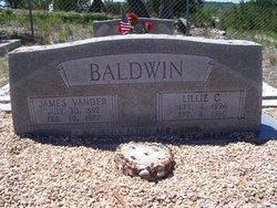Lillie Cynthia <i>Sublett</i> Baldwin