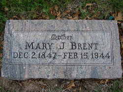 Mary Jane <i>Clugsten</i> Brent