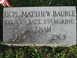 LCpl Matthew John Skip Baurle