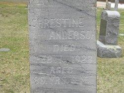Chrestine Anderson