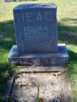 Edith E <i>Shaw</i> Head