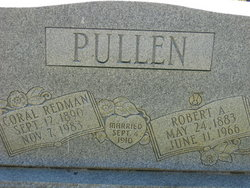 Coral Mae <i>Redman</i> Pullen