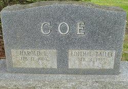 Harold LaVerne Coe