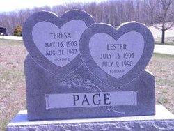 Teresa May Tressie <i>Uithol</i> Page