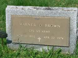 Corp Warner D. Brown