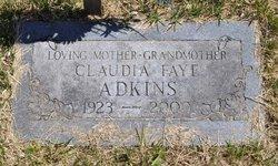 Claudia Fay Adkins